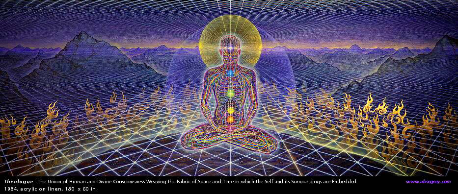 Alex Grey - Union of Mind and Universal Consciousness