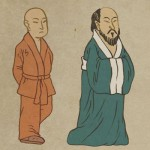 Two Travelling Monks