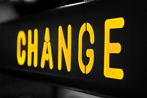 acceptance precedes change